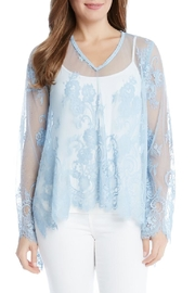 Karen Kane Floral Lace Top - Product Mini Image