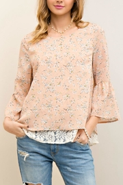 Entro Floral Lace Top - Product Mini Image