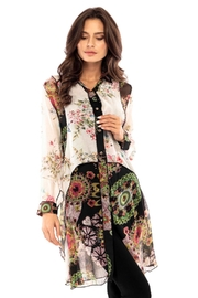 Adore Floral Layered Tunic - Product Mini Image