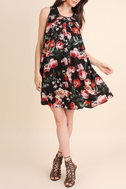 Umgee USA Floral Lbd Dress - Front cropped