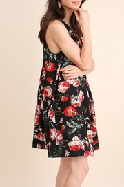 Umgee USA Floral Lbd Dress - Front full body