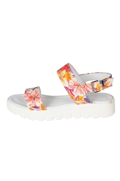 Lady Doc Floral Leather Sandals - Product List Image