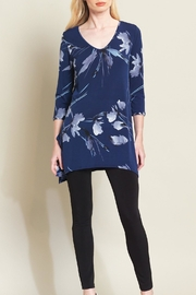Clara Sunwoo Floral Leaves Tunic - Product Mini Image
