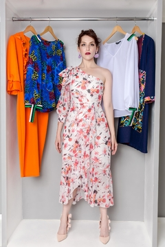 MODChic Couture Floral Lefon Dress - Product List Image