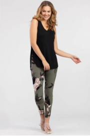 Tribal Floral Legging - Product Mini Image