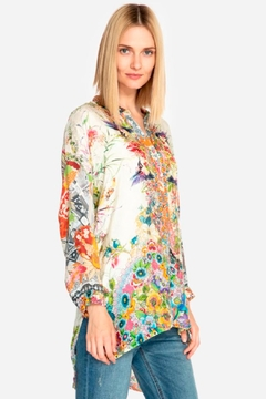 Johnny Was Floral Leilani Blouse - Alternate List Image