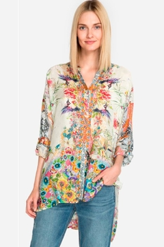 Johnny Was Floral Leilani Blouse - Product List Image