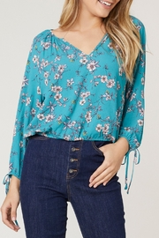 Jack by BB Dakota Floral Long-Sleeve Top - Product Mini Image