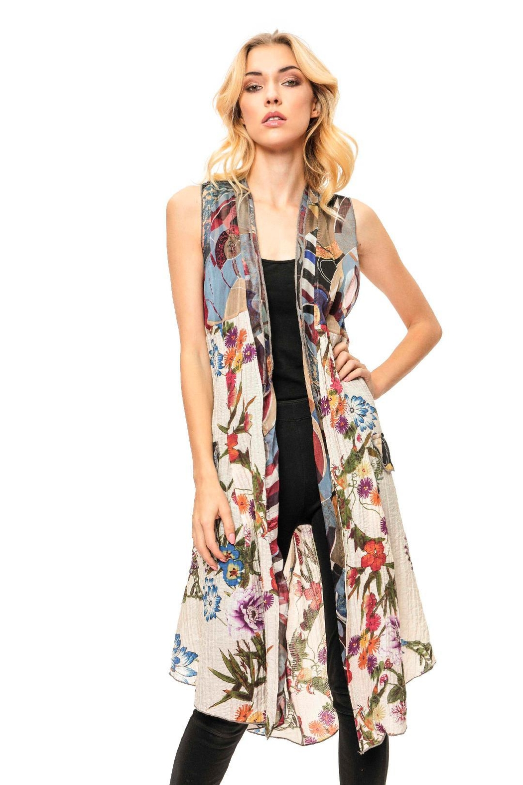 d03bac06dca Adore Floral Long Vest from Cambria by New Moon — Shoptiques