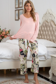 C+D+M Floral Lounge Wear Set - Product Mini Image