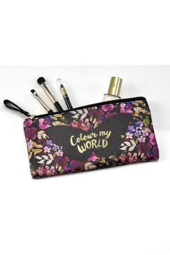 Gift Craft Floral Make-up Pouch - Alternate List Image