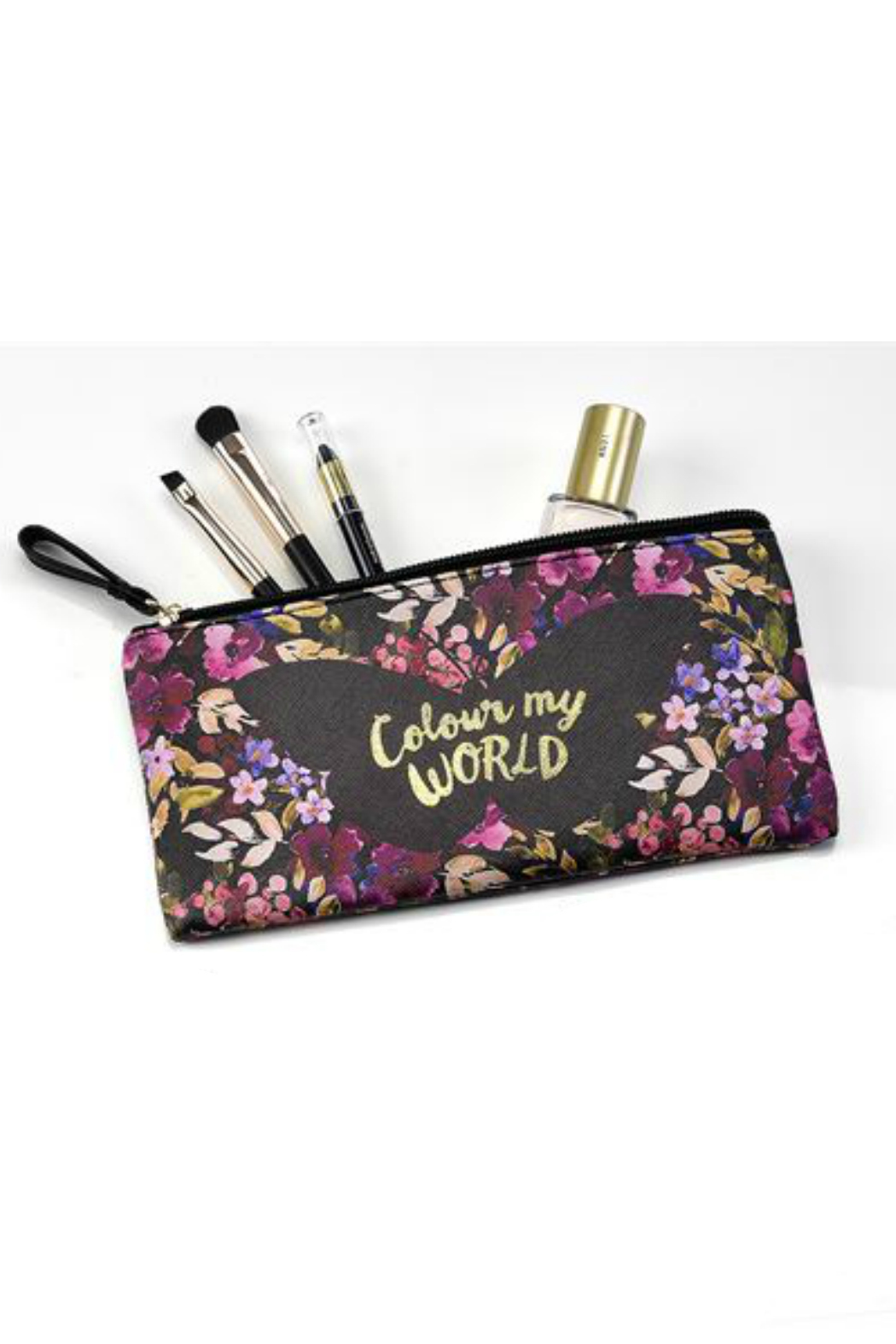 Gift Craft floral make-up Pouch - Main Image