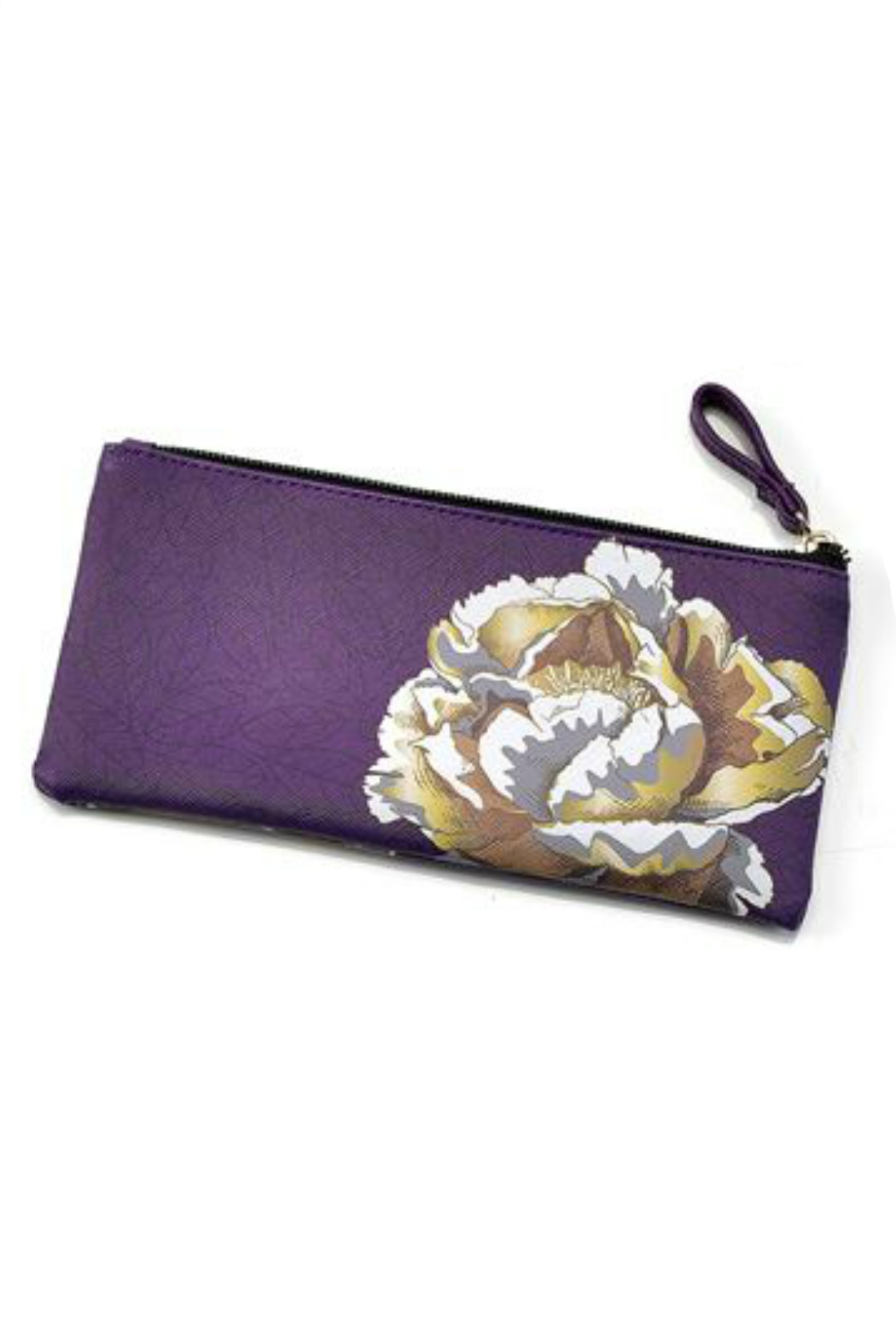 Gift Craft floral make-up Pouch - Front Cropped Image