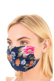 FAME ACCESORIES Floral Mask - Product Mini Image