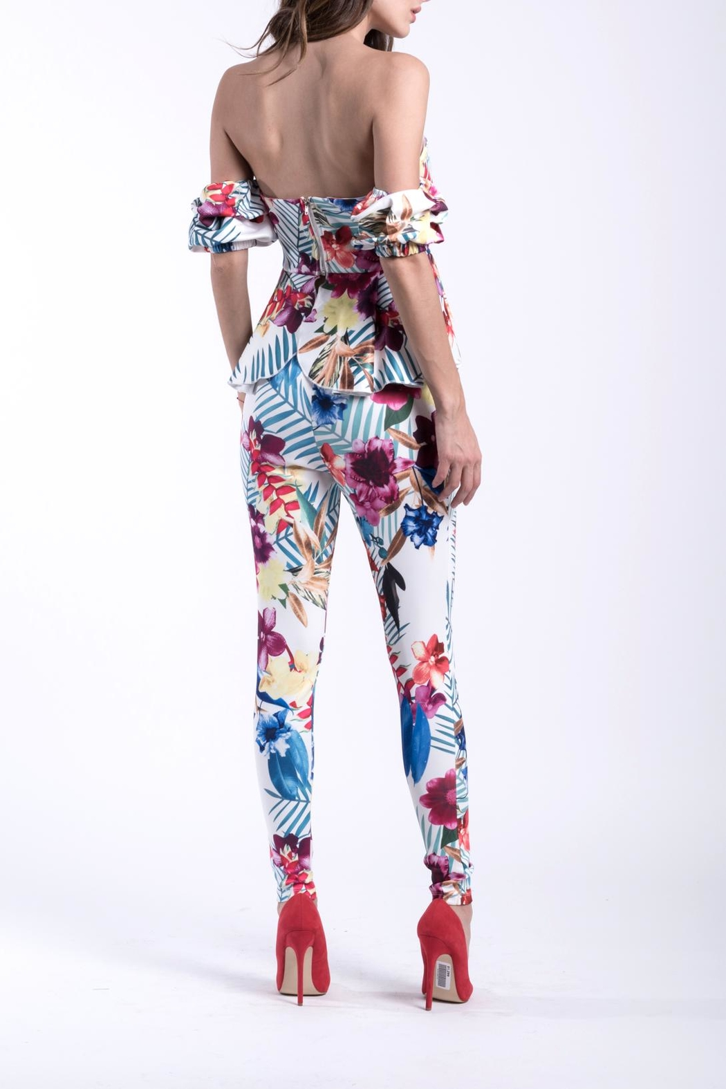 DOLCICIMO Floral Matching Set - Front Full Image