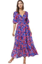 Fore Collection Floral Maxi Dress - Product Mini Image