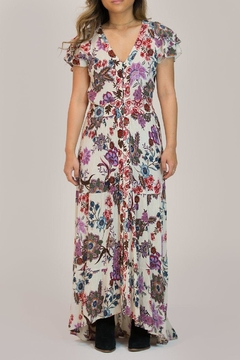 Patrons of Peace Floral Maxi Dress - Product List Image