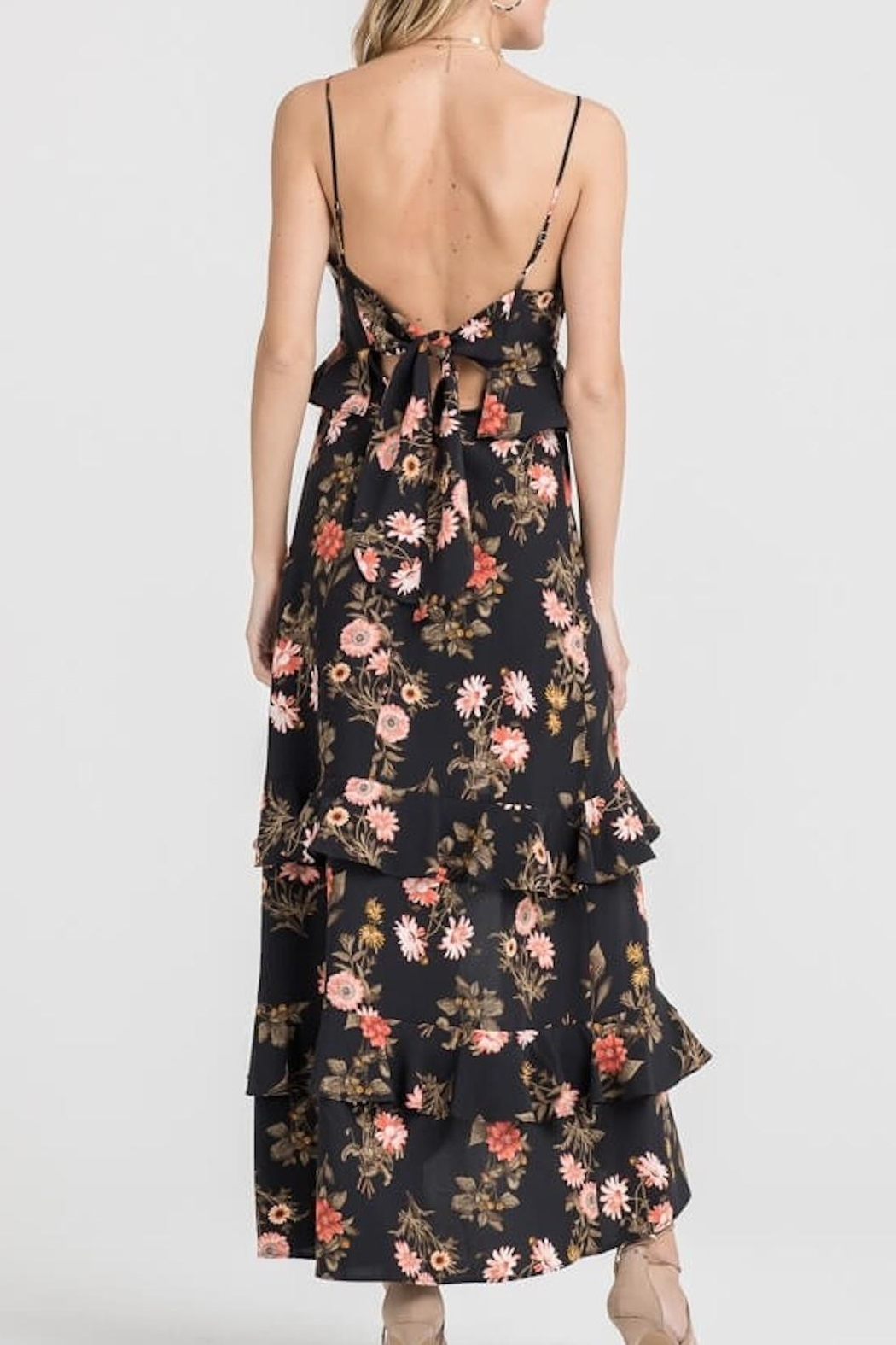 Lush Clothing  Floral Maxi Dress - Front Full Image