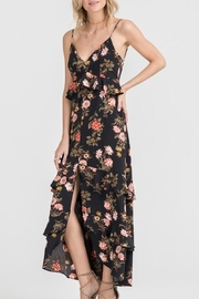 Lush Clothing  Floral Maxi Dress - Front cropped