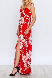Jealous Tomato Floral Maxi Dress - Front cropped