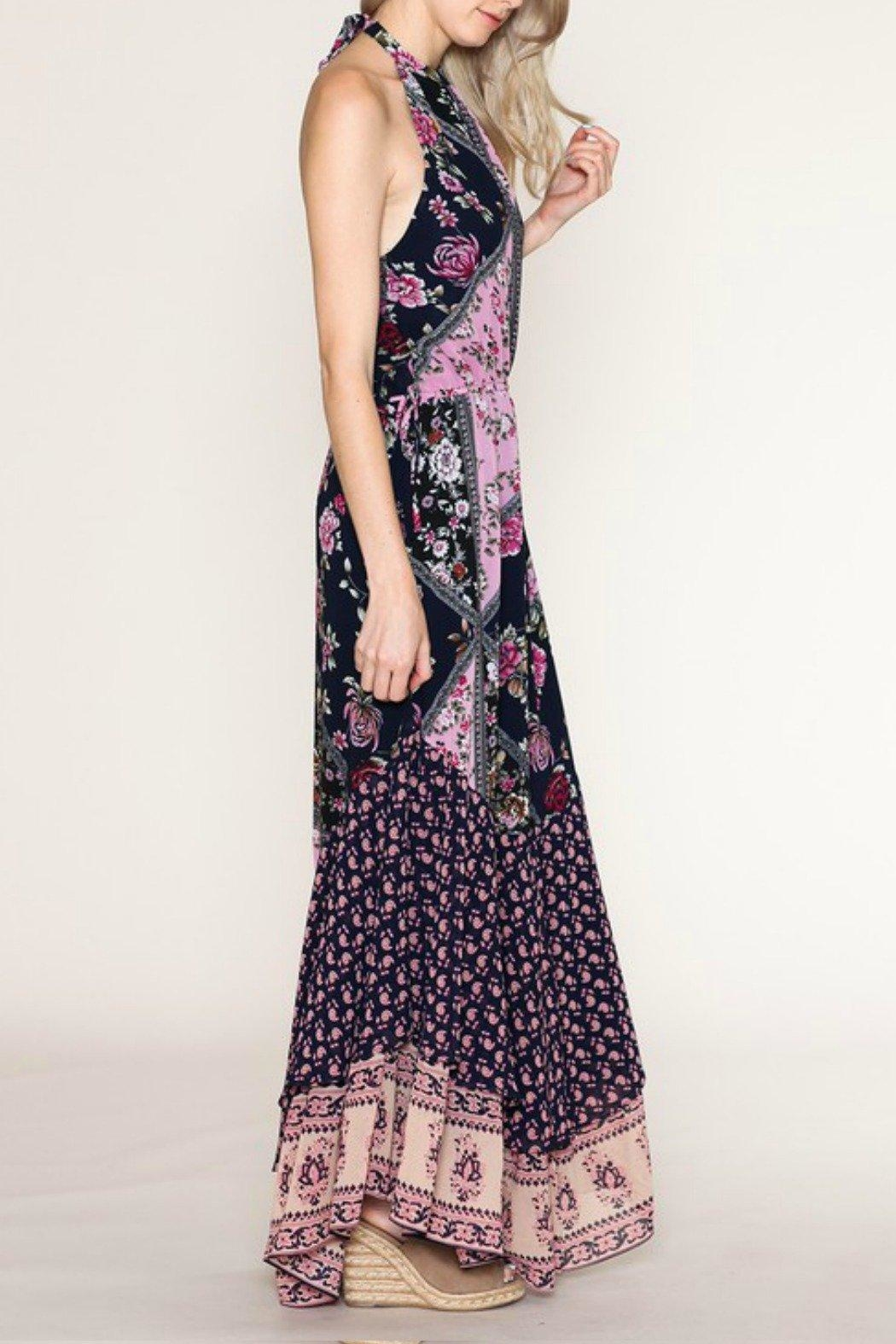 Listicle Floral Maxi Dress - Front Full Image