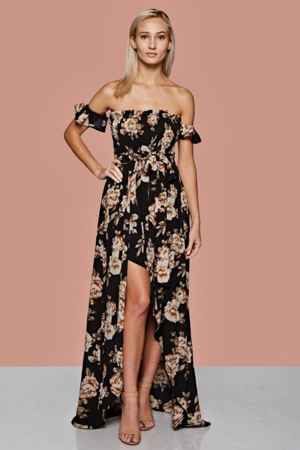People Outfitter Floral Maxi Dress - Main Image
