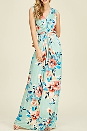 Reborn J Floral Maxi Dress - Product Mini Image