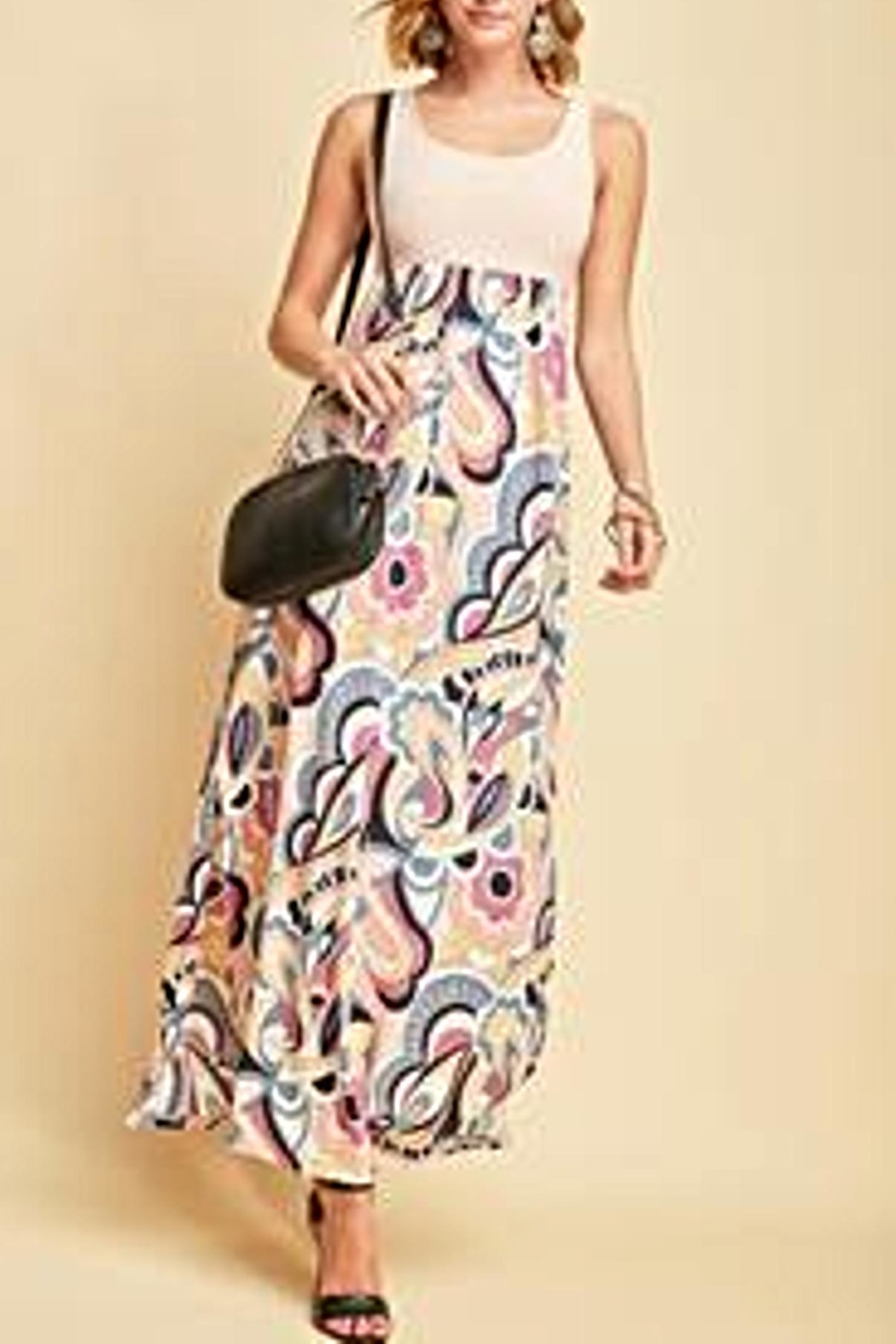 Entro Floral Maxi Dress - Main Image