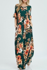 Sweet Lovely Floral Maxi Dress - Product Mini Image