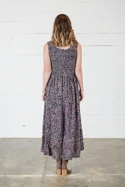 Go Fish Clothing Floral Maxi Dress - Side cropped