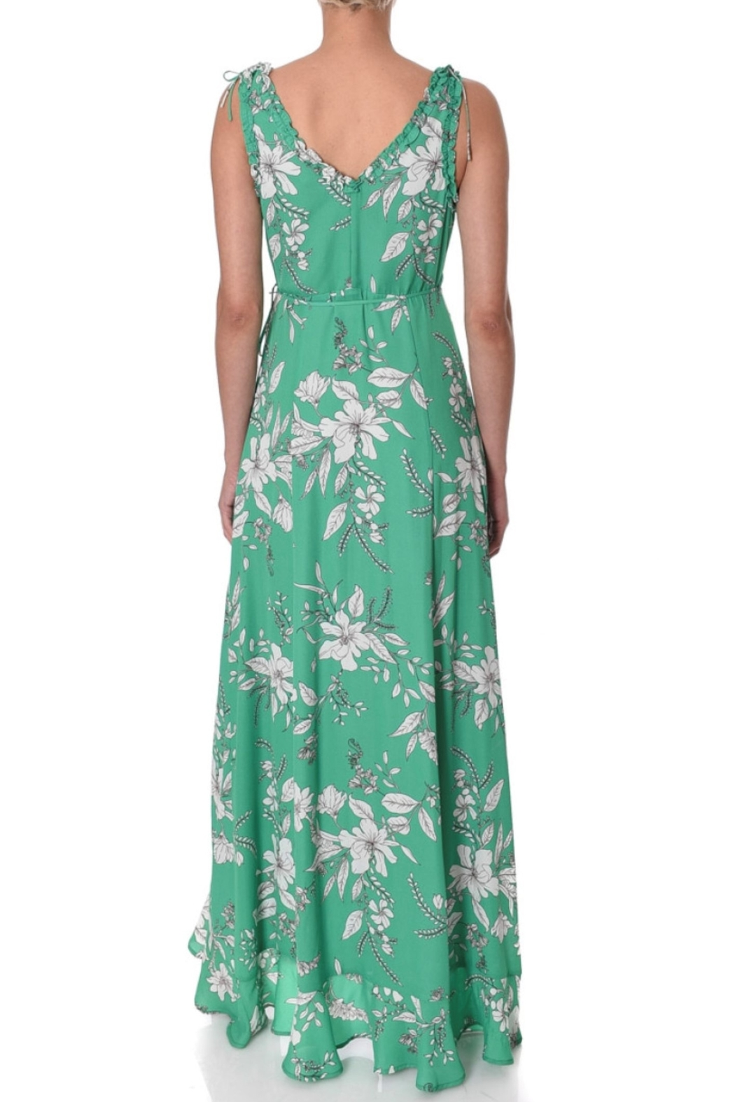 If By Sea Floral Maxi Dress - Front Full Image
