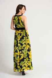 Joseph Ribkoff Floral Maxi Dress - Side cropped