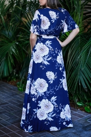 Kenzie Floral Maxi Dresss - Front full body