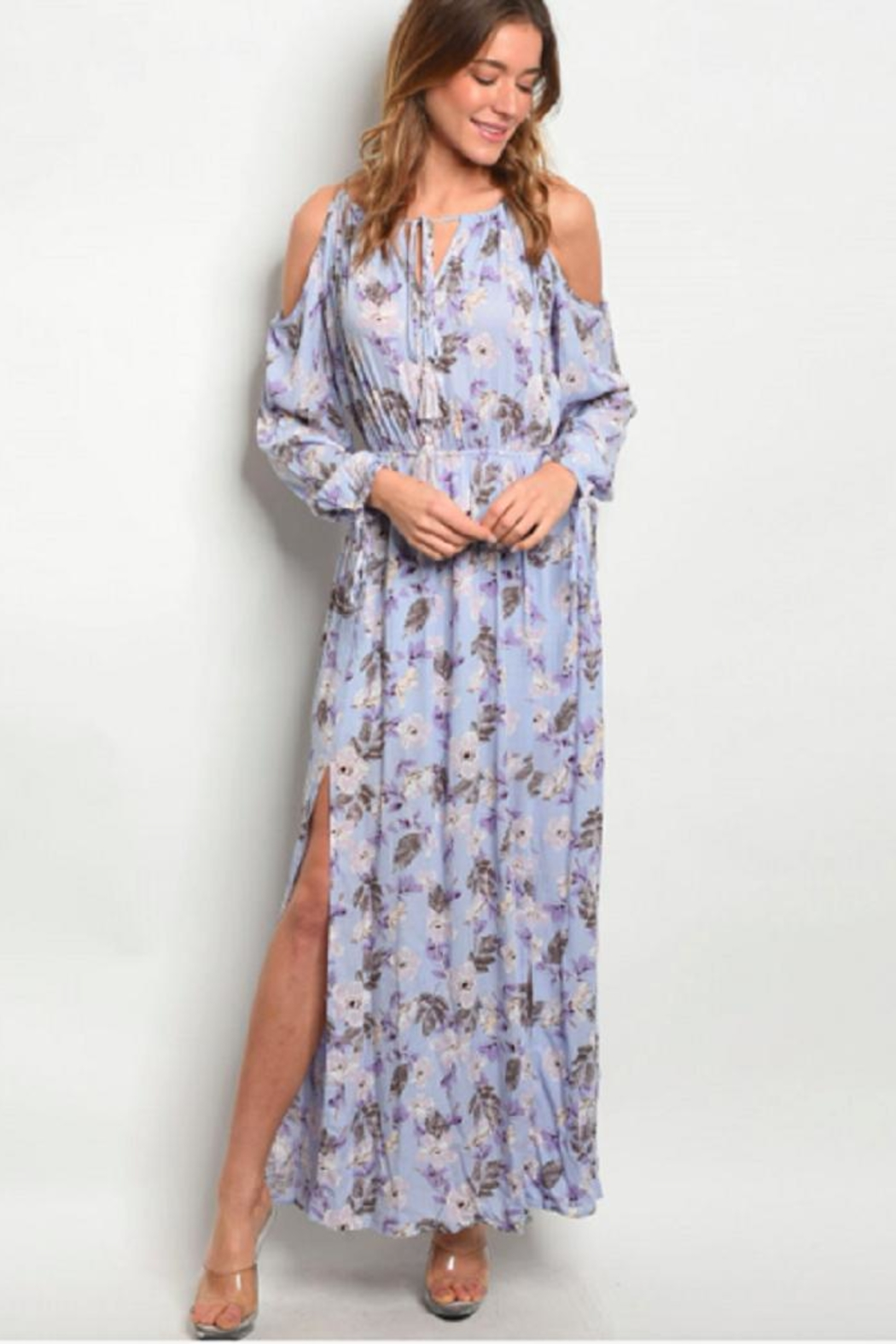 Hommage Floral Maxi Lilac - Main Image
