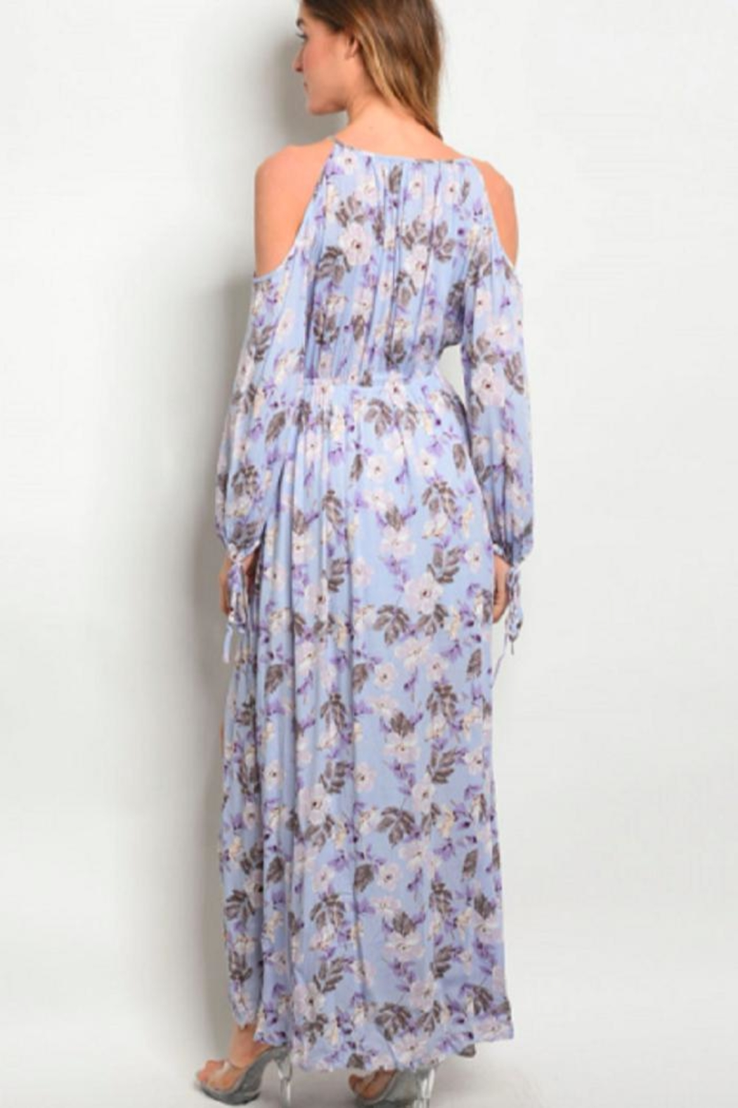 Hommage Floral Maxi Lilac - Front Full Image