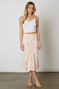 Cotton Candy Floral Maxi Skirt - Product List Image