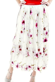 Maryley Floral Maxi Skirt - Product Mini Image
