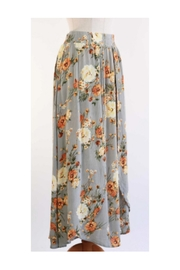 Final Touch Floral Maxi Skirt - Product Mini Image