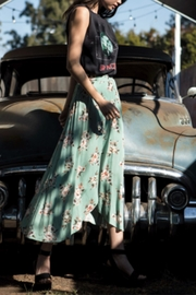 encreme Floral Maxi Skirt - Product Mini Image