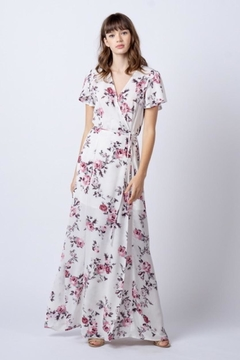 rokoko Floral Maxi Wrap-Dress - Alternate List Image