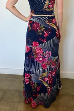 Veronica M Floral Maxi Wrap Skirt - Alternate List Image