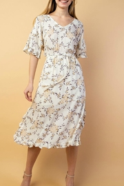 Le Lis Floral Midi Dress - Product Mini Image