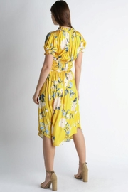 Current Air Floral Midi Dress - Back cropped