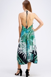AAKAA Floral Midi Dress - Back cropped