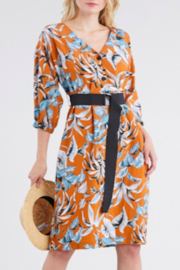 episode Floral Midi Dress - Front cropped