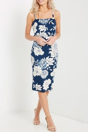 MaiTai Floral Midi Dress - Front cropped