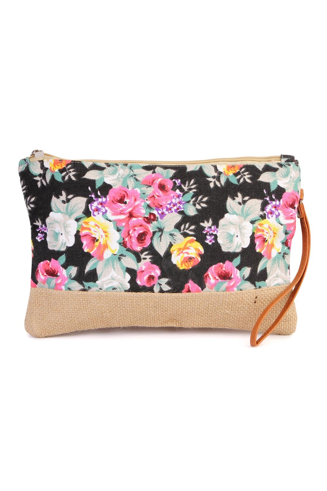 Riah Fashion Floral Mini Bag - Main Image