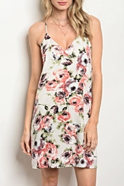 rokoko Floral Mini Dress - Product Mini Image