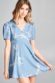 Racine Floral Mini Dress - Product Mini Image