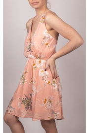 Final Touch Floral Mini Dress - Side cropped